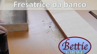 getlinkyoutube.com-Banco fresa fresatrice fai da te Einhell 1100