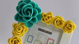 getlinkyoutube.com-Rosas de goma eva