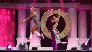 Ashley Sebera aka Dana Brooke Fitness Pro Routine @Arnolds Classic 2017