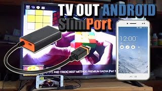 Cara Menampilkan Layar Android di LED TV dengan SlimPort