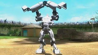 getlinkyoutube.com-Real Steel WRB FINAL Underworld II Blockbuster VS Metro  (champion) NEW UPDATE (Живая Сталь)