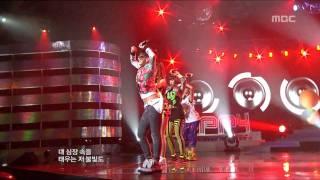 getlinkyoutube.com-2NE1 - Fire, 투애니원 - 파이어, Music Core 20100220