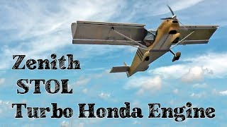 getlinkyoutube.com-Flying the turbo Viking engine in the Zenith CH 750