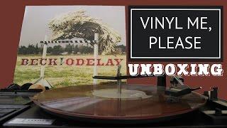 getlinkyoutube.com-Vinyl Me, Please Unboxing October 2016 - Beck