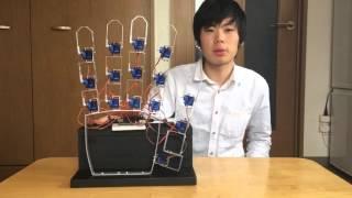 getlinkyoutube.com-ラジコンサーボでジャンケンロボットを製作してみた!