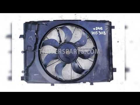 Вентилятор радиатора Mercedes W117 CLA A2465000093