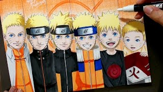 Speed Drawing - Naruto