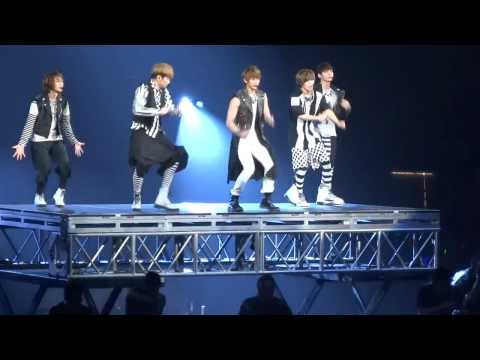 120520 SHINee - Lucifer Opening SMTOWN 2012 Honda Center