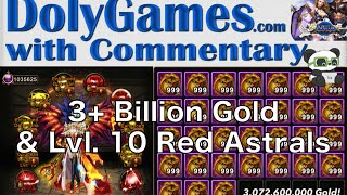 getlinkyoutube.com-➜ Wartune Character Upgrade | Level 10 Red Astrals + 3 Billion Gold Compensation
