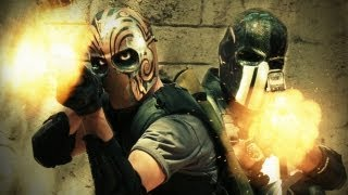 Army of TWO's protagonists, Alpha and Bravo