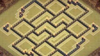 getlinkyoutube.com-Clash Of Clans - TH 10 Farming Base - Dark Elixir Base