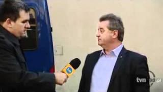 Poseł Andrzej Pałys pijany