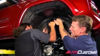 "getlinkyoutube.com-MaxTrac Suspension 6.5"" Lift Kit install on 2016 Toyota Tacoma 2WD - AutoCustoms.com"