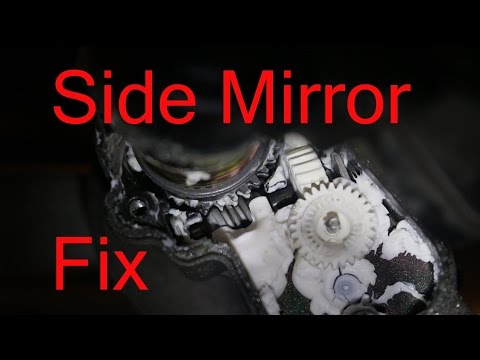 Side mirror gear or problem fix retracting LX470 and Land Cruiser