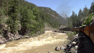 getlinkyoutube.com-Durango & Silverton Narrow Gauge Railroad - 2015