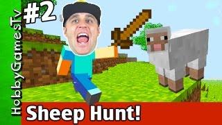 getlinkyoutube.com-Minecraft SHEEP HUNT Day 2 Lost My House! HobbyDude Xbox 360 HobbyGamesTV