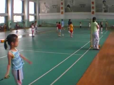 Badminton training methods of China