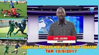 HABARI ZA MICHEZO  LIGI KUU YA VODACOM TANZANIA BARA LEO