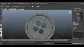 getlinkyoutube.com-Modelling button and Making holes in Maya (no Booleans)