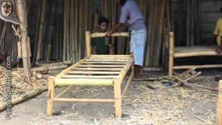 getlinkyoutube.com-Bamboo furniture maker in Pampanga Philippines