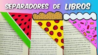 getlinkyoutube.com-Separadores de Libros (Sandía, Pizza y Pastel) │Espacio Creativo