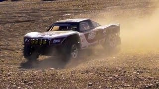 getlinkyoutube.com-RC ADVENTURES - HUGE RC TRUCK - LOSi 5T GAS 4X4 at the Construction SiTE! AWESOME!
