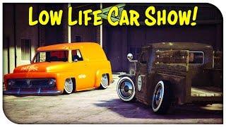 getlinkyoutube.com-GTA 5 Online - LOWLIFE THEMED CAR SHOW! [GTA V]