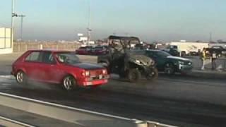 getlinkyoutube.com-12-13-09 88 Dodge Omni vs 2010 Camaro SS. FOR REAL?!