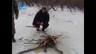 getlinkyoutube.com-Gicu Caraman la pescuit la copca feb2014