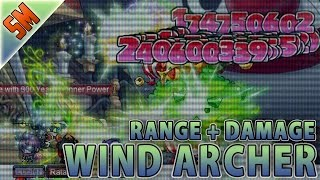 getlinkyoutube.com-Wind Archer's New Damage & Range! [MapleStory V Update]