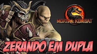 getlinkyoutube.com-Zerando em Dupla - Shao Kahn e Goro Mortal Kombat PC