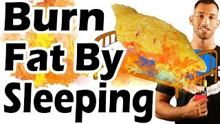 getlinkyoutube.com-How to Lose Belly Fat Overnight While Sleeping   Best Way to Burn Fat While Asleep Fast
