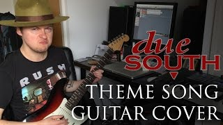 Jay Semko - Due South Theme (Guitar Cover)