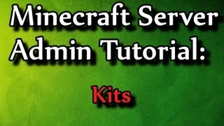 getlinkyoutube.com-Minecraft Admin How-To: Kits (/kit command)