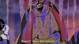 getlinkyoutube.com-One Piece - Blackbeard Pirates VS Magellan In Impel Down ! ENG SUB