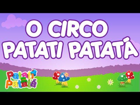 Patati Patatá - O Circo Patati Patatá - (DVD No Mundo Encantado)