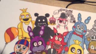 getlinkyoutube.com-All of my FNaF Drawings part 3