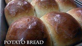 getlinkyoutube.com-Potato Bread, dinner rolls style - recipe