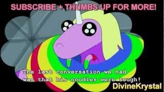 getlinkyoutube.com-NEW! Lady Rainicorn Translations to ENGLISH Adventure Time -Entire Episode-