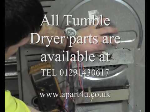How to replace thermostat on Indesit tumble dryer