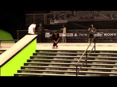 Dew Tour - Portland Skateboard Street Final Highlights - P-Rod, Ryan Decenzo, Manny Santiago