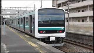 getlinkyoutube.com-常磐線 E501系 内郷駅 VVVF【きれいな発進】