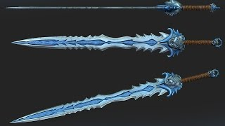 Creating a Sword with Zbrush for games