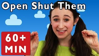 Open Shut Them and More | Nursery Rhymes from Mother Goose Club!