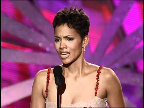 Golden Globes 2000 Halle Berry Wins Best Actress in a TV Movie