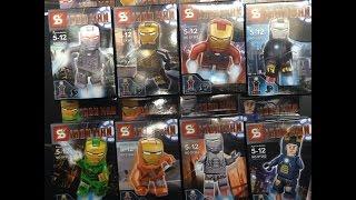 getlinkyoutube.com-เลโก้จีนรีวิว SY Iron Man Wave 3  By.T&J ToyS