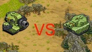 getlinkyoutube.com-Battle Nation The Super Tank vs The Mega Tank