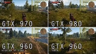getlinkyoutube.com-Wiedźmin 3 - GTX 980, GTX 970 i GTX 960 | UBER, 1080p, 60 kl./s