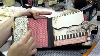 getlinkyoutube.com-Chip board mini album