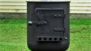 Homemade Potbelly Stove 17 inch Dia top